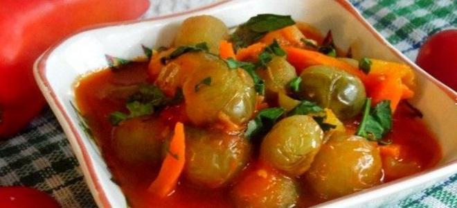 zielone pomidory na zimę bez octu