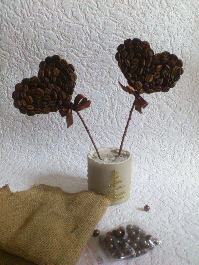 topiari z ziaren kawy własnymi rękami 14