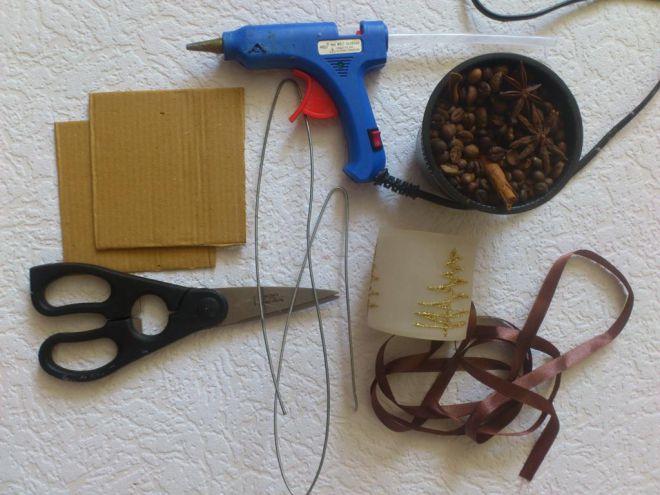 топиари од кафе зрна ручно 1