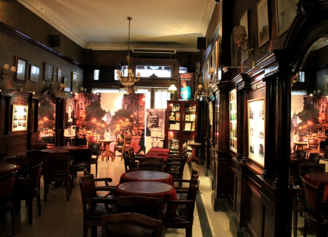 Внутри кафетерия