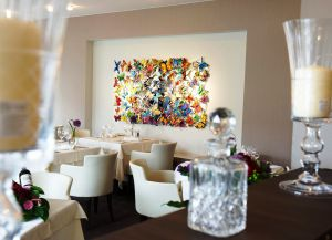 Ресторан отеля La Roseraie