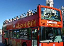 Автобус Madrid Vision