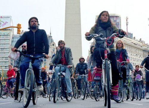 Biking по Буэнос-Айресу