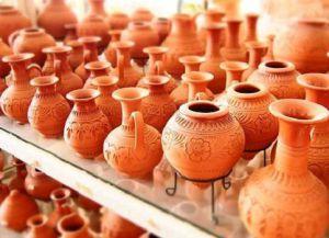 Гончарная мастерская на Кипре