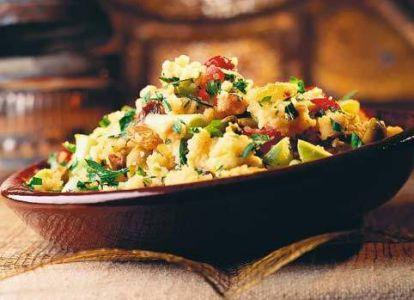 Кускус - традиционное блюдо Марокко