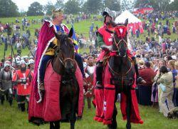 Конкурс трубадуров и рыцарей