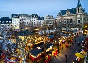Рождественский базар в Люксембурге