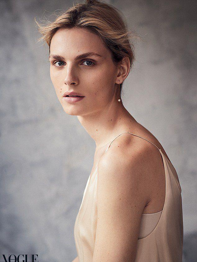 Пежич на страницах октябрского номера австралийского Vogue