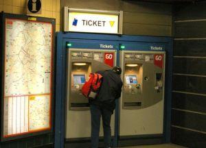 Билеты можно купить в специальных автоматах