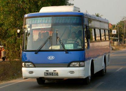 Комфортабельные автобусы Камбоджи