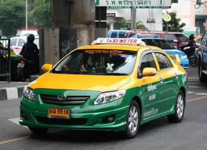 Обычное такси в Камбодже
