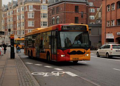 Транспорт Дании автобус