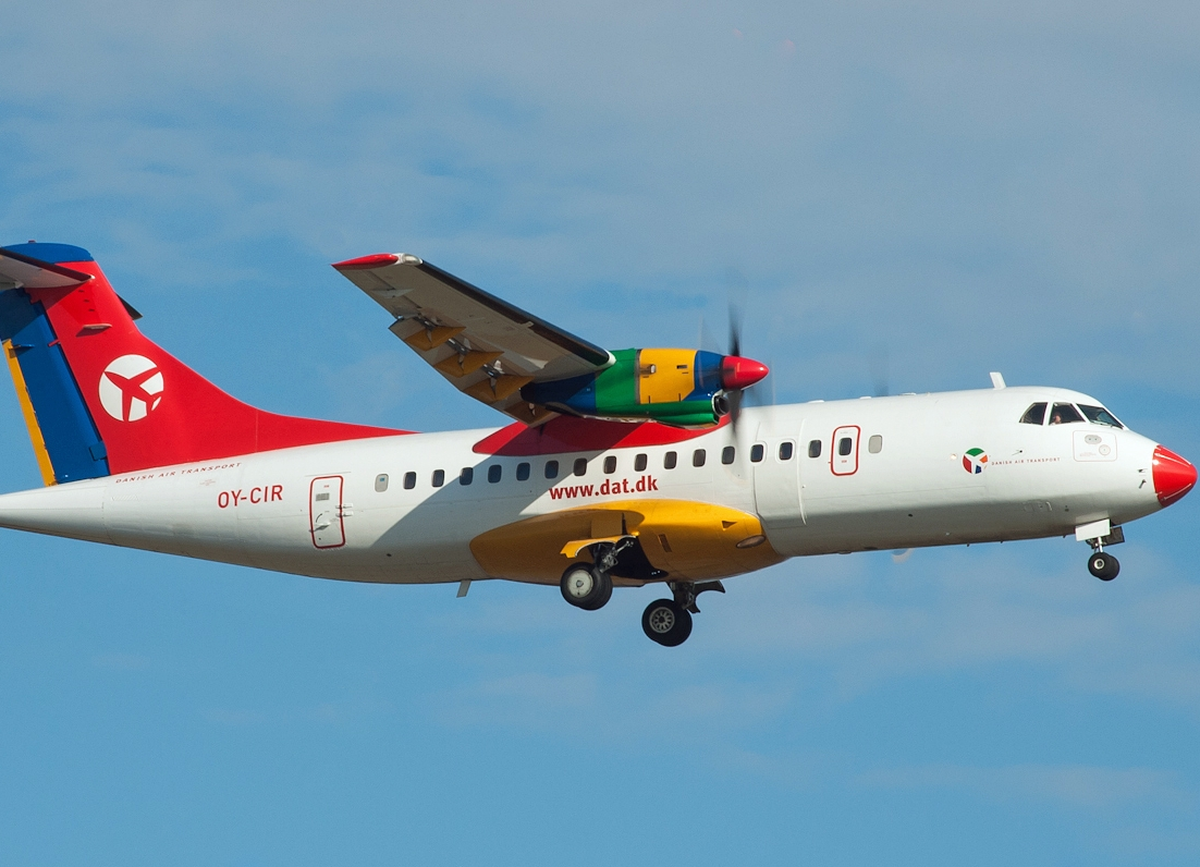 Транспорт Дании самолет