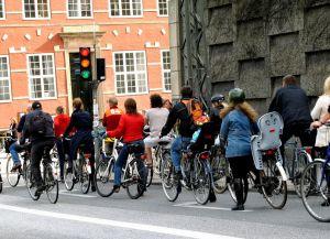 Транспорт Дании велосипеды