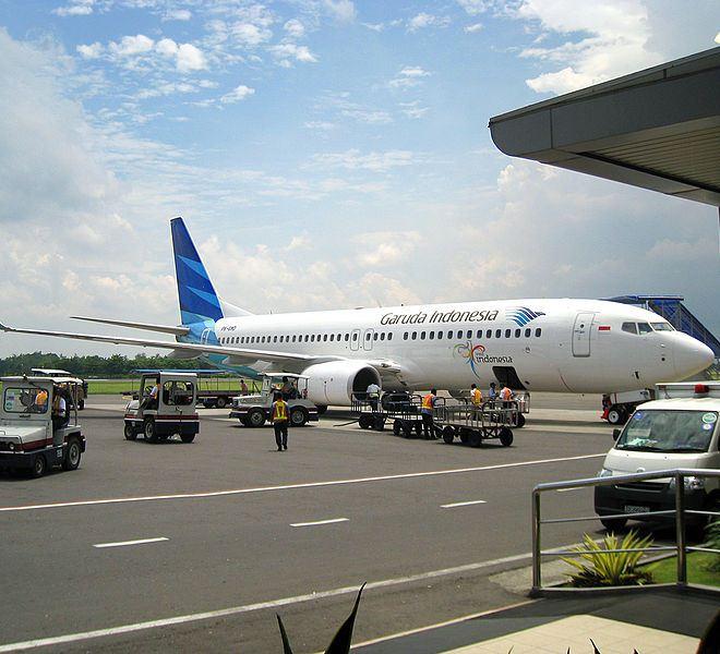 Самолет местной авиакомпании