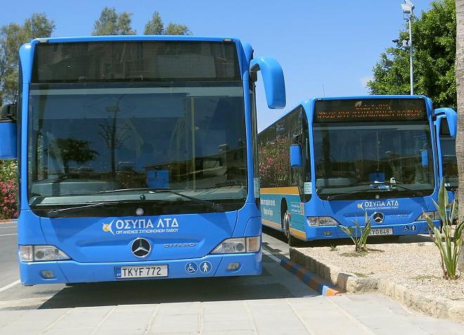 Городские автобусы на Кипре