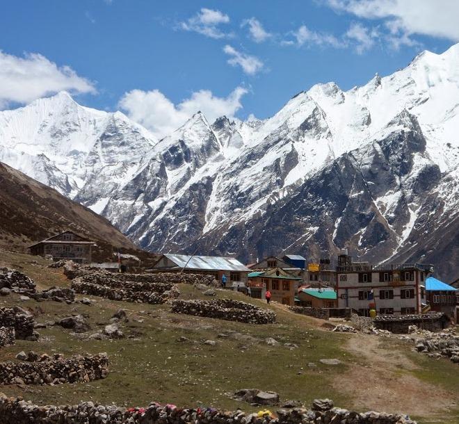 Маленькие деревеньки в горах