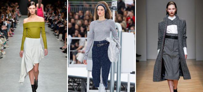 модные тренды зима 2018
