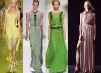 Тенденции на дълги рокли 2014 2