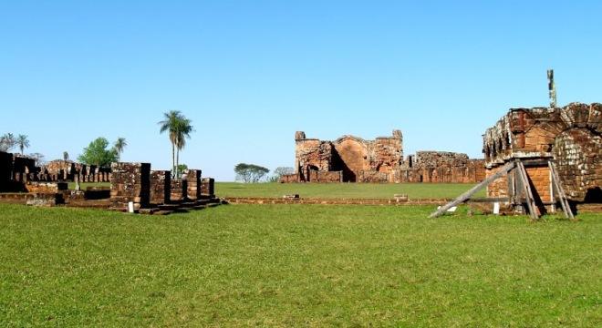 Руины миссий Тринидад и Хесус
