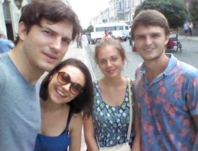 Селфи со звездами в Черновцах