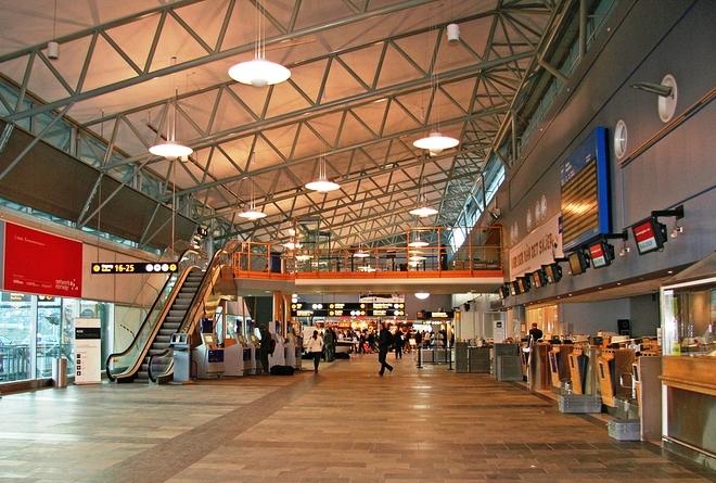 В аэропорту Тромсё