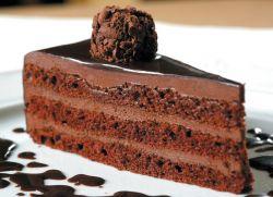 Ciasto czekoladowe trufla
