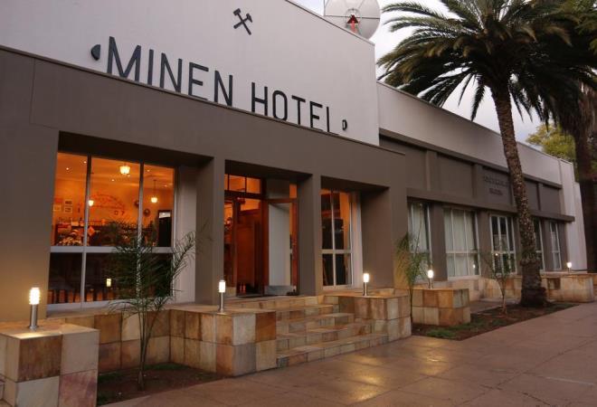 Отель Minen Hotel