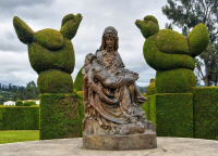 Тулькан, кладбище