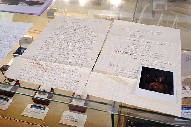 Письмо Тупака Мадонне на аукционе