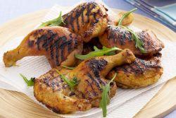 Pieczony kurczak z przyprawą kurkumy