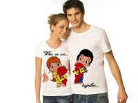 Seznanjene t-shirts za dva12