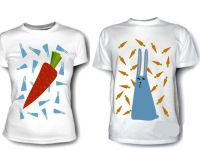 Seznanjene majice za dva