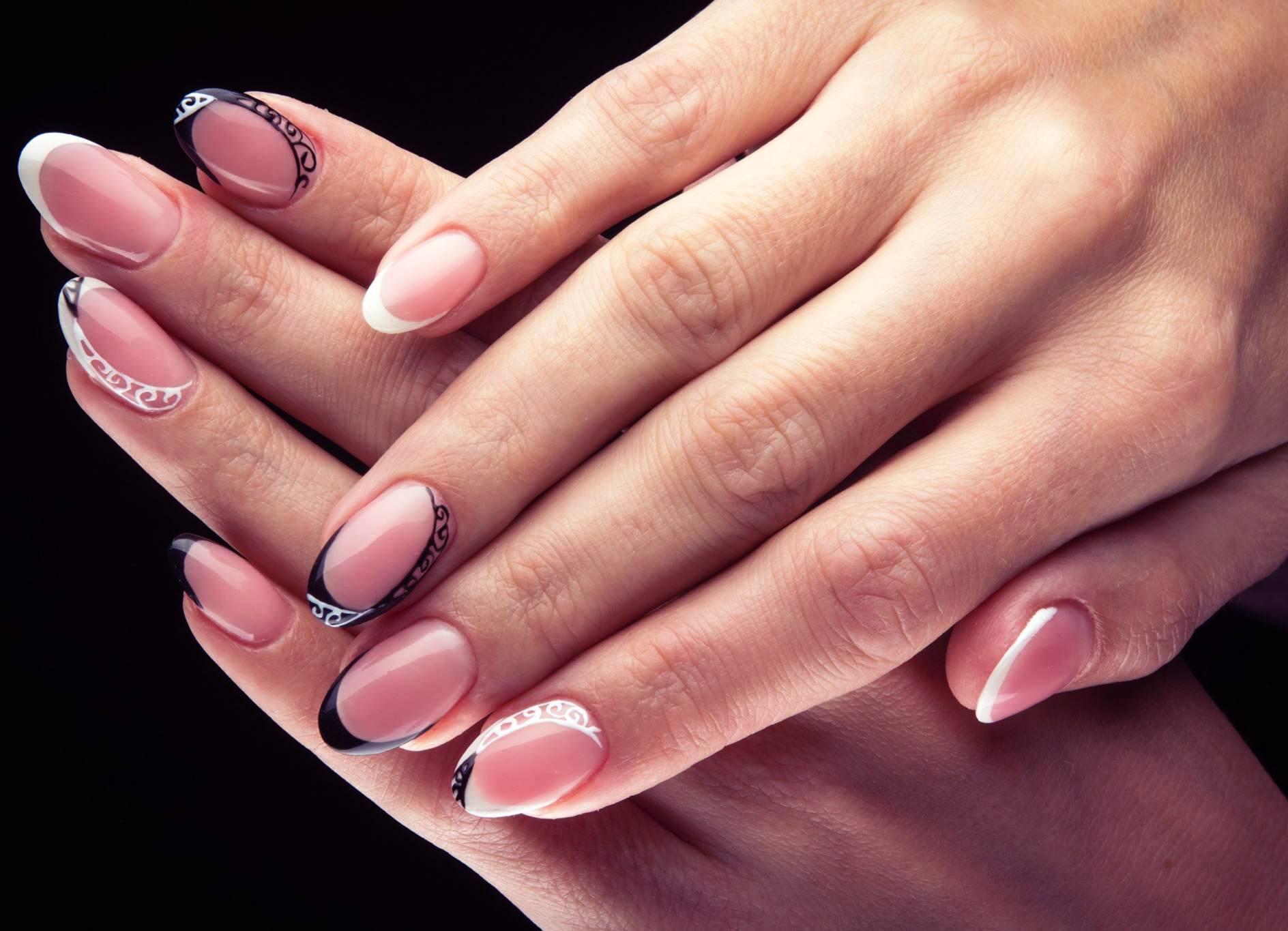 Виды маникюра фото на средние ногти