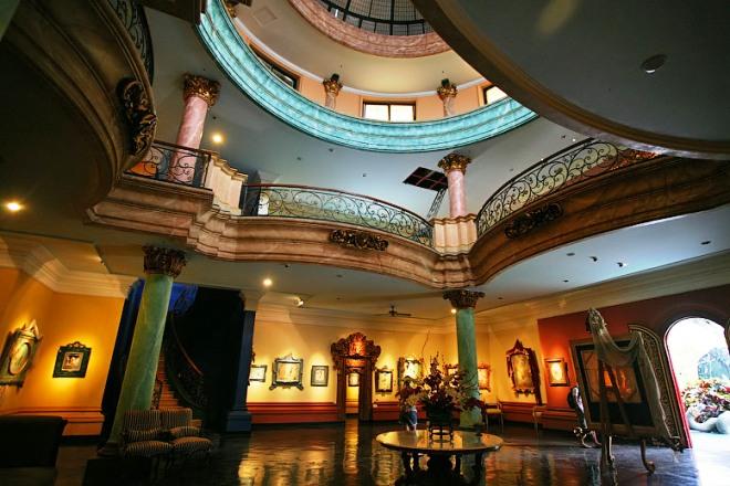 В музее Антонио Бланко