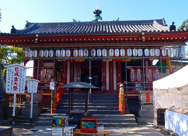 Храмы парка Уэно