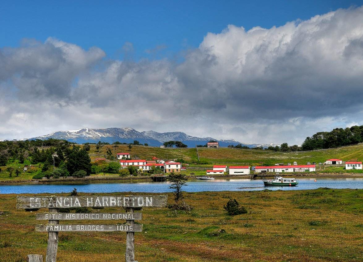 Исторический центр Estancia Harberton