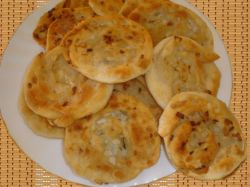 Uzbeckie tortille z cebulą