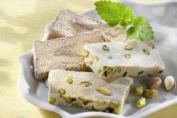 Uzbecka chałwa z pistacjami