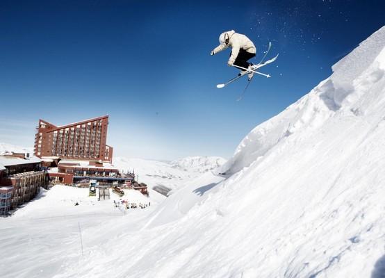 Любимое место лыжников и сноубордистов