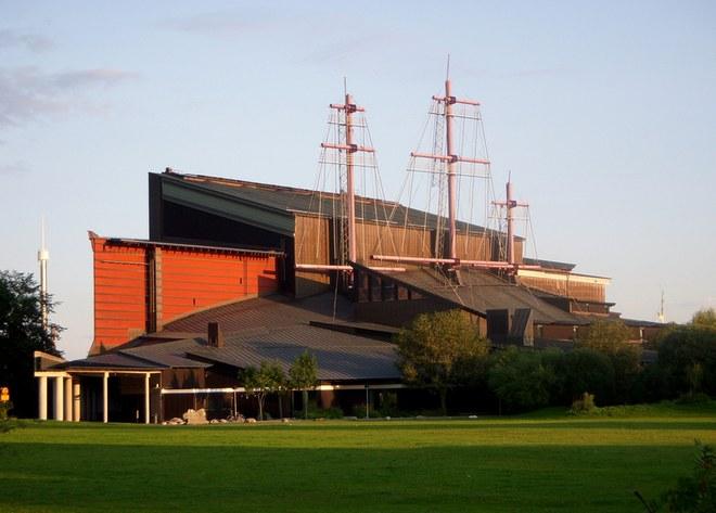 Внешний вид музея Васа