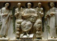 Фреска художника Анджелиса, показывающая жизнь Пия VII
