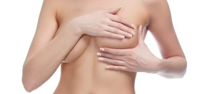 вене на грудима