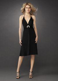 czarny krawat dla kobiet3