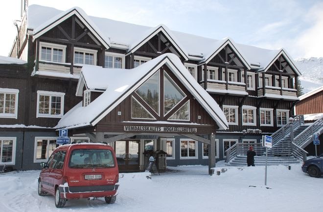 Отель Vemdalsskalet Hogfjallshotell