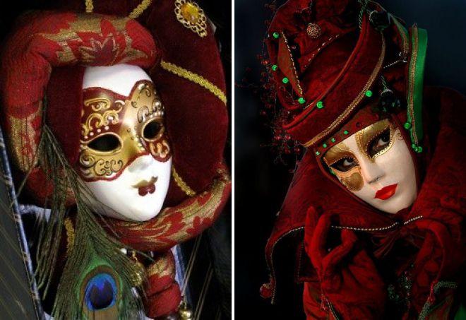 история происхождения венецианских масок