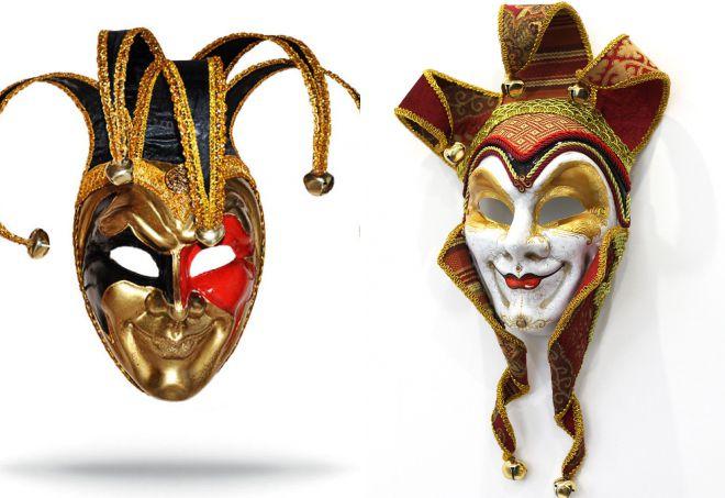 венецианская маска шута