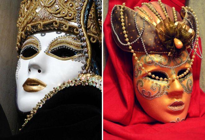 венецианские маски виды и значение