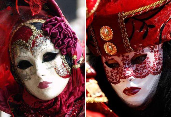 маска венецианская дама