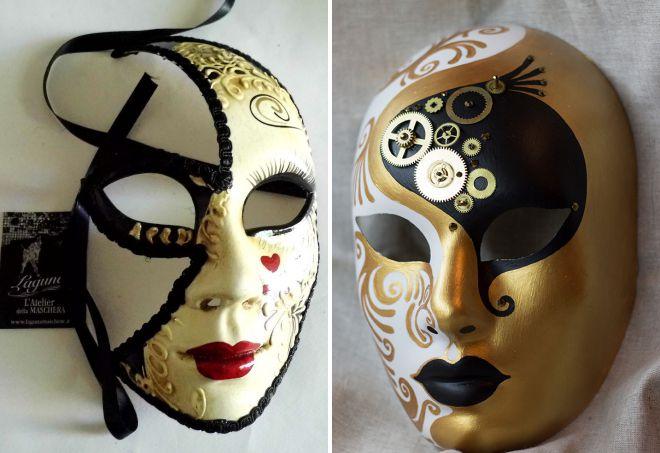венецианская маска вольто